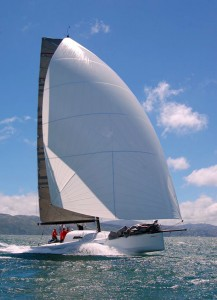Bodacious Dream in Full Sail
