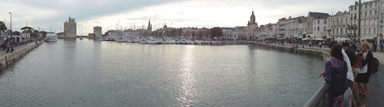 La Rochelle Harbor at High Tide
