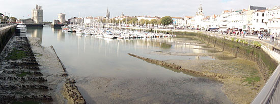 La Rochelle at Low Tide